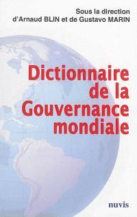 Dictionnaire de la gouvernance mondiale