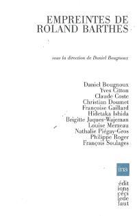 Empreintes de Roland Barthes