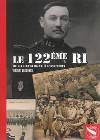 Le 122e RI : de la Catalogne à l'Aveyron