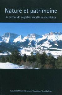 Nature et patrimoine au service de la gestion durable des territoires