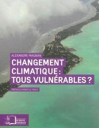 Changement climatique, tous vulnérables ? : repenser les inégalités