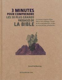 3 minutes pour comprendre les 50 passages essentiels de la Bible