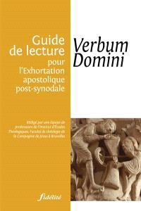 Guide de lecture de l'exhortation apostolique Verbum domini