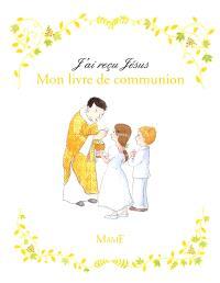 Mon livre de communion