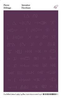 Inventer l'écriture : rituels prophétiques et chamaniques des Indiens d'Amérique du Nord : XVIIe-XIXe siècles