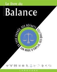 Le livre de la Balance : 23 septembre-22 octobre