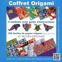 Coffret origami : 10 motifs japonais : 4 modèles avec guide d'instructions