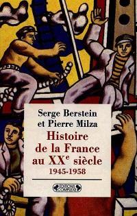 Histoire de la France au XXe siècle. Volume 4, 1958-1974