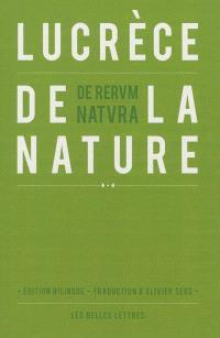 De la nature = De rerum natura