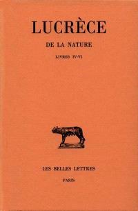 De la nature. Volume 2, 4-6