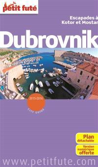Dubrovnik : escapades à Kotor et Mostar : 2015-2016