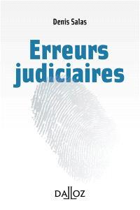 Erreurs judiciaires