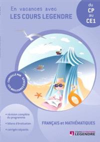 Cahier de vacances, du CP au CE1