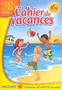 Cahier de vacances du CE1 au CE2, 7-8 ans