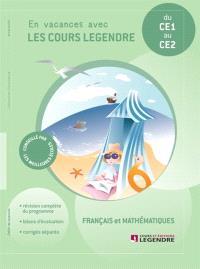 Cahier de vacances, du CE1 au CE2