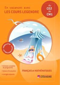 Cahier de vacances, du CE2 au CM1