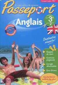 Passeport anglais, de la 3e vers la 2de