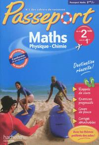 Passeport maths, physique-chimie, de la 2de vers la 1re