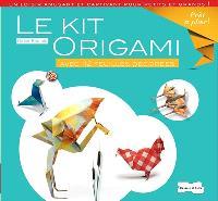 Le kit origami : avec 112 feuilles décorées