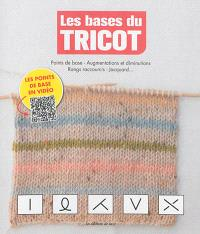 Les bases du tricot : points de base, augmentations et diminutions, rangs raccourcis, jacquard...