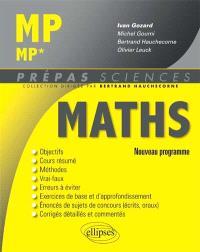 Mathématiques MP, MP* : nouveau programme