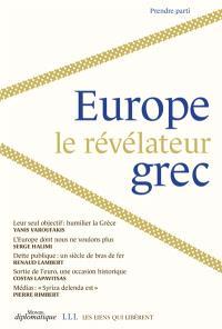 Europe, le révélateur grec