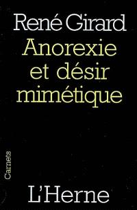 Anorexie et désir mimétique