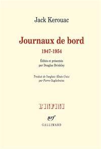 Journaux de bord : 1947-1954