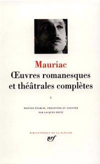Oeuvres romanesques et théâtrales complètes. Volume 1