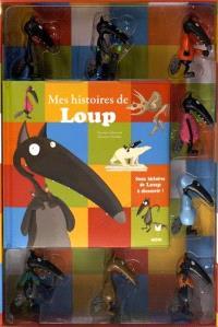 Mon coffret de figurines loup : mes histoires de loup