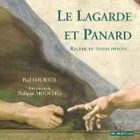 Le Lagarde et Panard : recueil de textes piétons de la littérature française de François Rabelais à Georges Perec