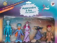 La planète des Alphas, Apprendre à lire... avec plaisir ! : les 5 personnages du conte des Alphas, 4 à 7 ans : outil recommandé GS, CP
