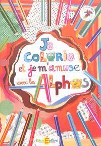 La planète des Alphas, Je colorie et je m'amuse avec les Alphas