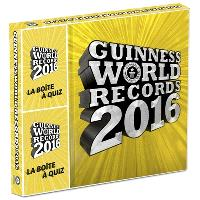 Guinness world records 2016 : la boîte à quiz