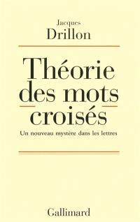 Théorie des mots croisés : un nouveau mystère dans les lettres