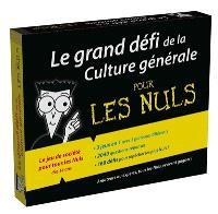 Le grand défi de la culture générale pour les nuls : le jeu de société pour tous les nuls