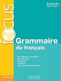 Grammaire du français, A1-B1