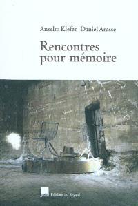 Rencontres pour mémoire