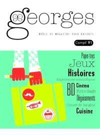 Georges : drôle de magazine pour enfants, compil'. n° 1