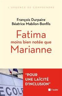 Fatima moins bien notée que Marianne : l'islam et l'école de la République