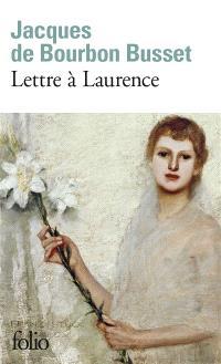 Lettre à Laurence