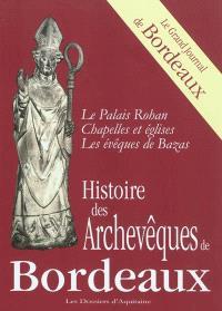 Histoire des archevêques de Bordeaux