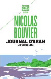Journal d'Aran et d'autres lieux : feuilles de route