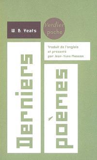 Derniers poèmes : 1936-1939