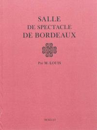 Salle de spectacle de Bordeaux