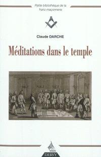 Méditations dans le temple