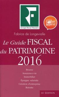 Le guide fiscal du patrimoine 2016