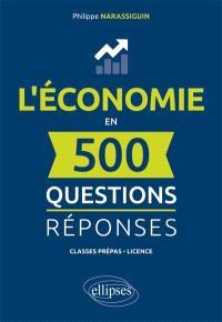 L'économie en 500 questions-réponses