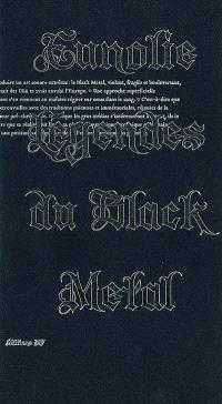 Eunolie, légendes du black metal