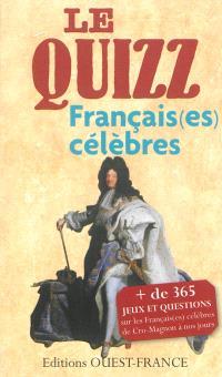 Le quizz Français(es) célèbres : de Cro-Magnon à nos jours